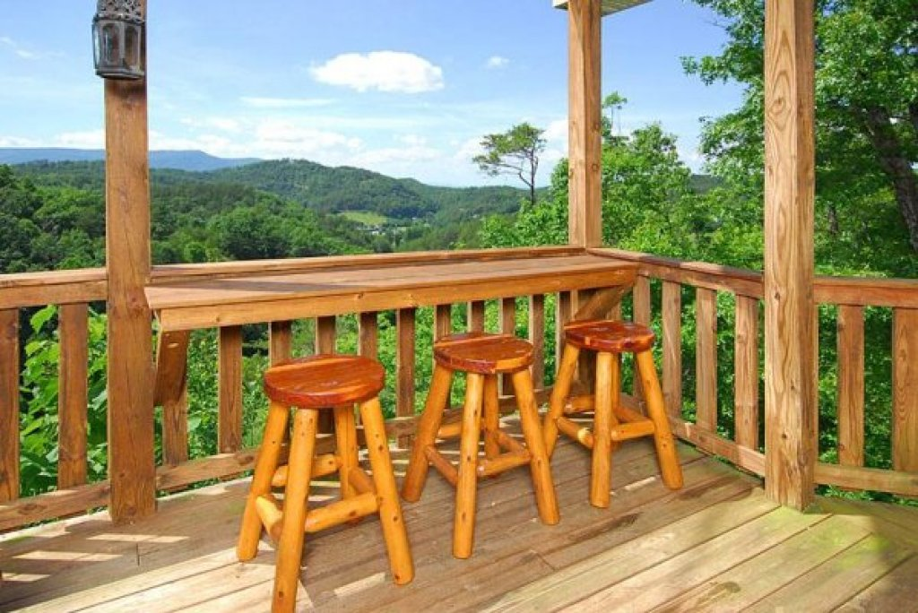 Photo of a Sevierville Cabin named Privacy & A View - This is the eighth photo in the set.
