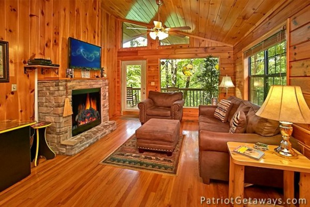 Photo of a Pigeon Forge Cabin named Always Together Forever - This is the third photo in the set.
