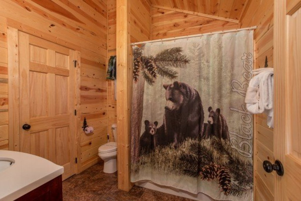 Photo of a Pigeon Forge Cabin named Bear Essence - This is the tenth photo in the set.