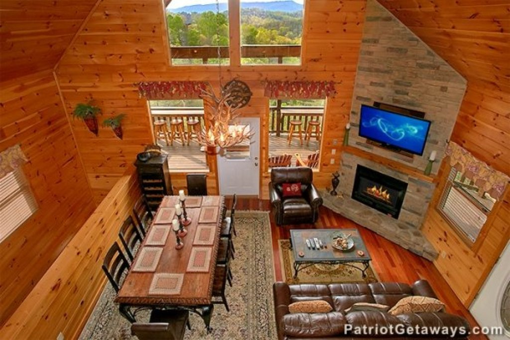 Photo of a Sevierville Cabin named Privacy & A View - This is the fourth photo in the set.