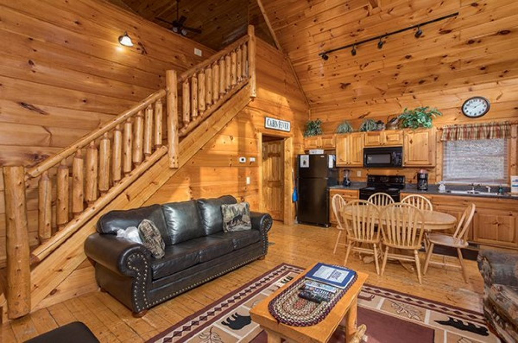 Photo of a Gatlinburg Cabin named Just Relax - This is the third photo in the set.