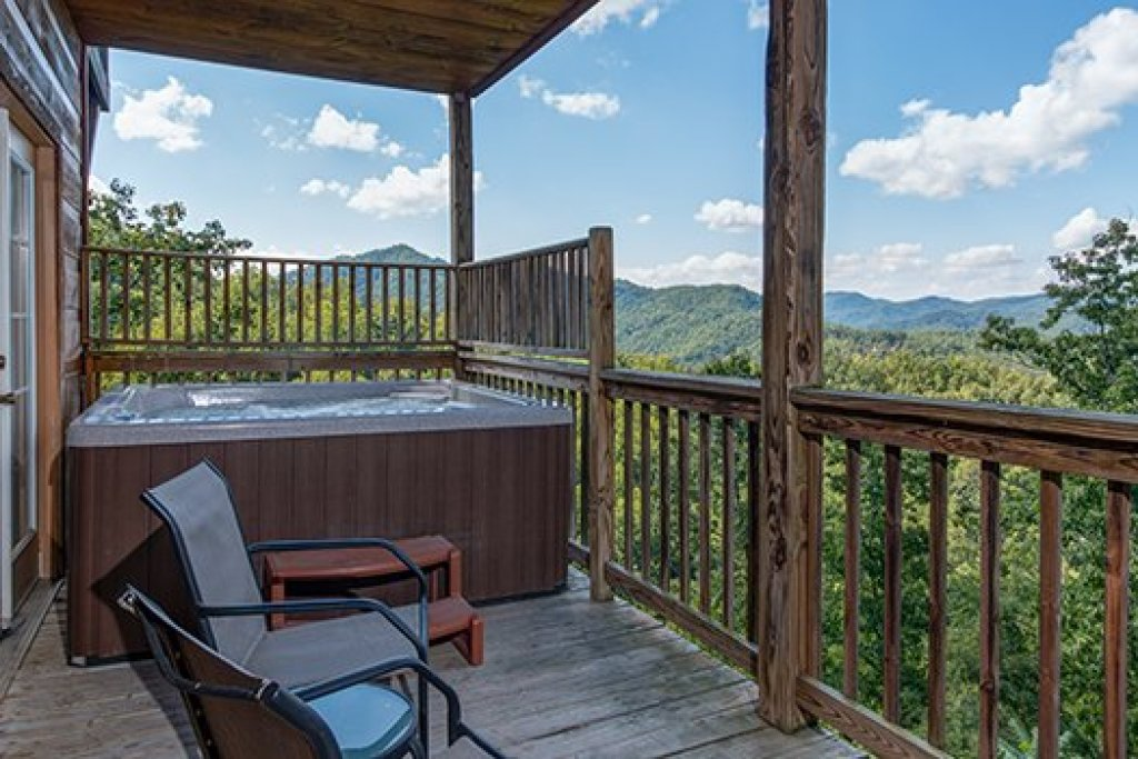 Photo of a Sevierville Cabin named Auburn Sky - This is the twenty-third photo in the set.