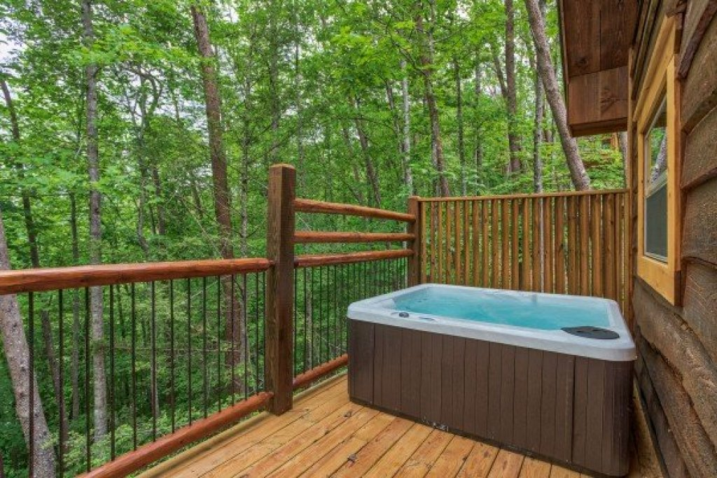 Photo of a Pigeon Forge Cabin named Tennessee Treehouse - This is the twelfth photo in the set.