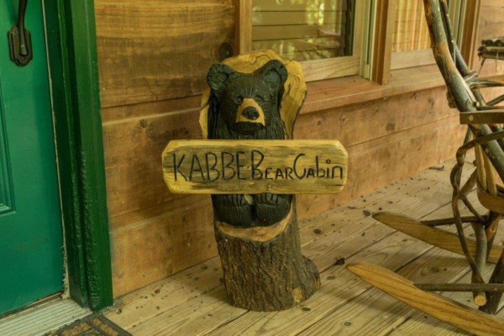 Photo of a Gatlinburg Cabin named Kabbe Bear Cabin - This is the eighteenth photo in the set.