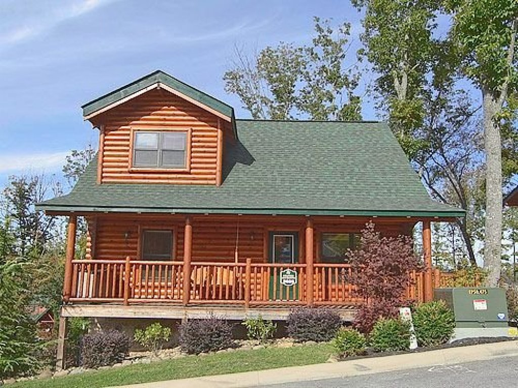 Photo of a Sevierville Cabin named Heaven On Earth - This is the twentieth photo in the set.