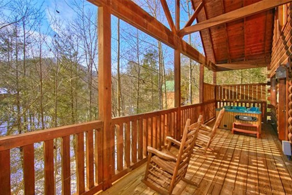 Photo of a Pigeon Forge Cabin named Secluded Pleasure - This is the second photo in the set.