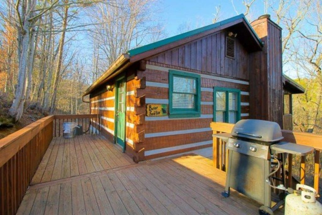 Photo of a Sevierville Cabin named Trails End - This is the second photo in the set.