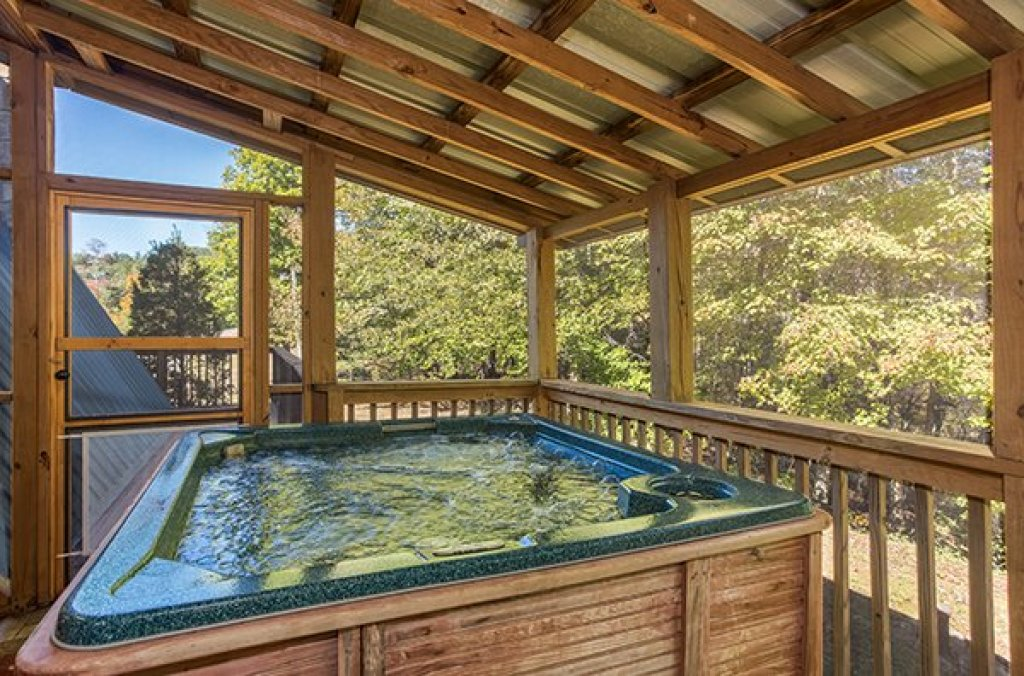 Photo of a Sevierville Cabin named Living On Love - This is the thirteenth photo in the set.