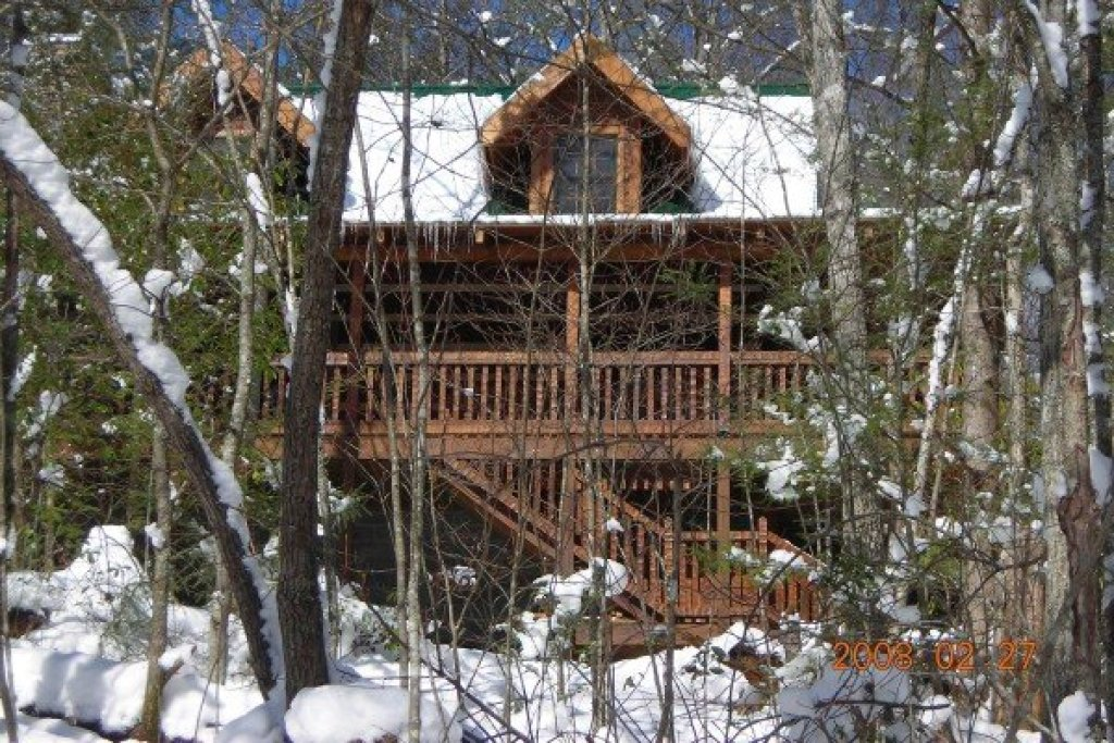Photo of a Gatlinburg Cabin named Sassafras Lodge - This is the twenty-ninth photo in the set.