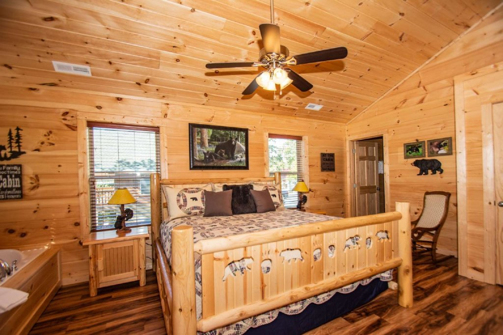 Photo of a Pigeon Forge Cabin named Tana-see - This is the fourth photo in the set.