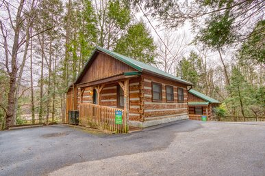 Romantic 1 Bedroom Cabin Within Walking Distance To Downtown Gatlinburg