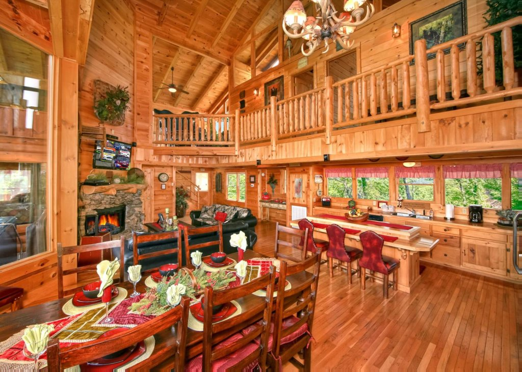 Photo of a Pigeon Forge Cabin named Livin The Dream #44 - This is the first photo in the set.