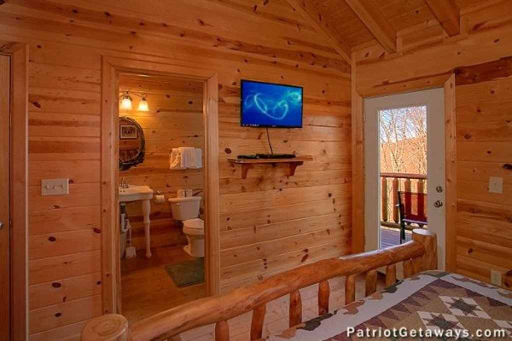 Photo of a Sevierville Cabin named Tennessee Dreamer - This is the seventeenth photo in the set.