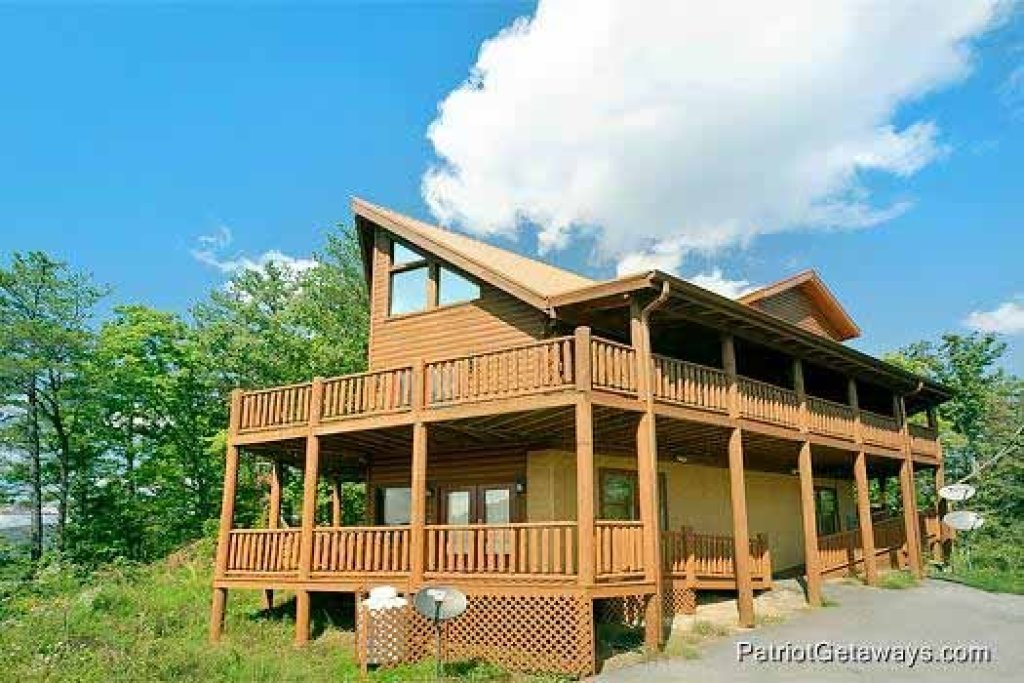 Photo of a Sevierville Cabin named Tennessee Dreamer - This is the thirty-fifth photo in the set.