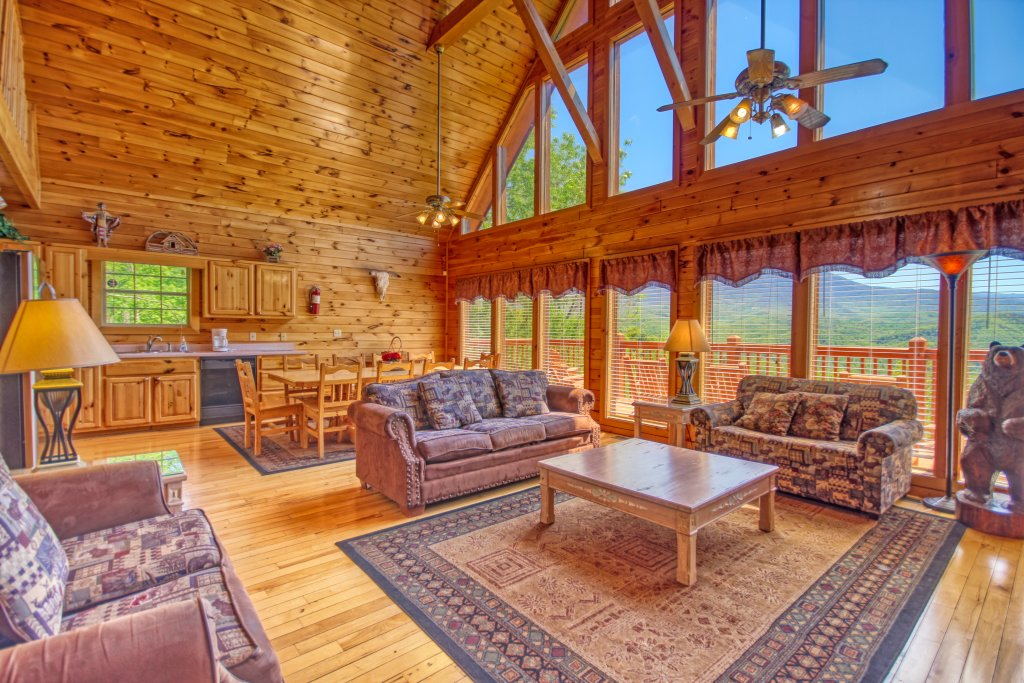 Photo of a Gatlinburg Cabin named Awesome Views #701 - This is the fourth photo in the set.