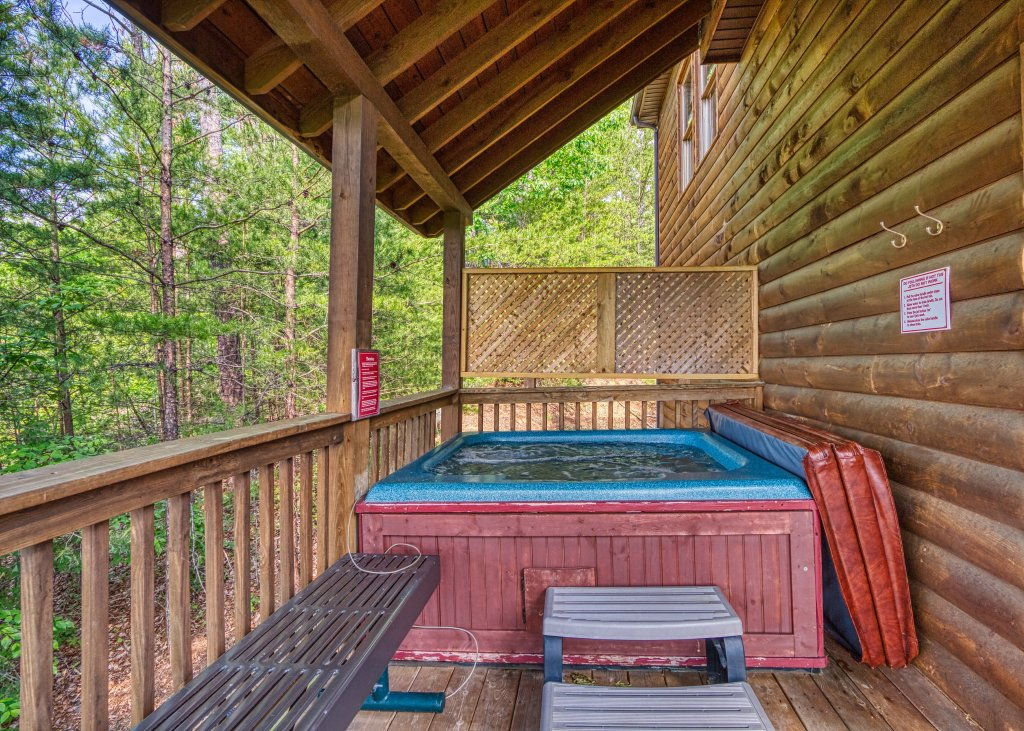 Photo of a Pigeon Forge Cabin named A Smoky Mountain Dream #291 - This is the twenty-fourth photo in the set.