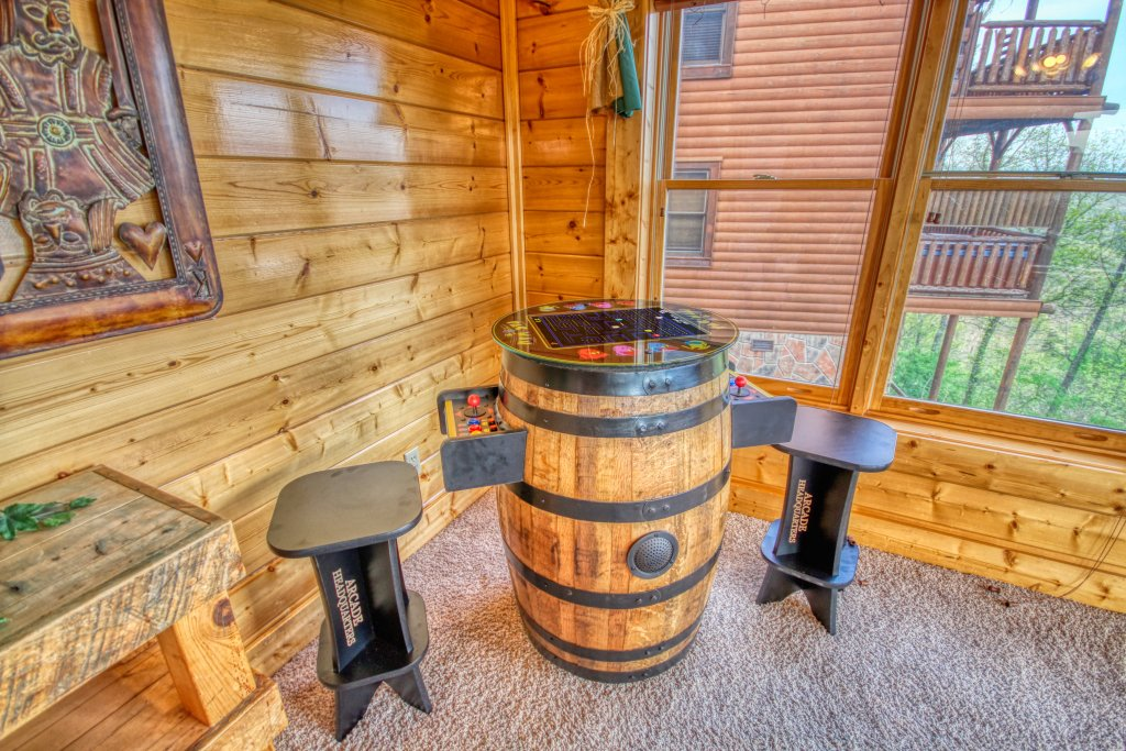 Photo of a Pigeon Forge Cabin named Tennessee Treasure #232 - This is the third photo in the set.