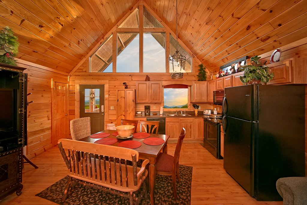Photo of a Pigeon Forge Cabin named Buckhead #259 - This is the fifteenth photo in the set.