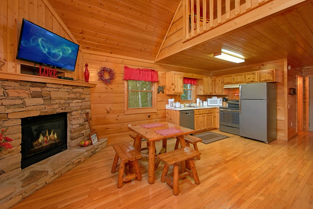 Photo of a Gatlinburg Cabin named Always Misbehavin #1412 - This is the third photo in the set.