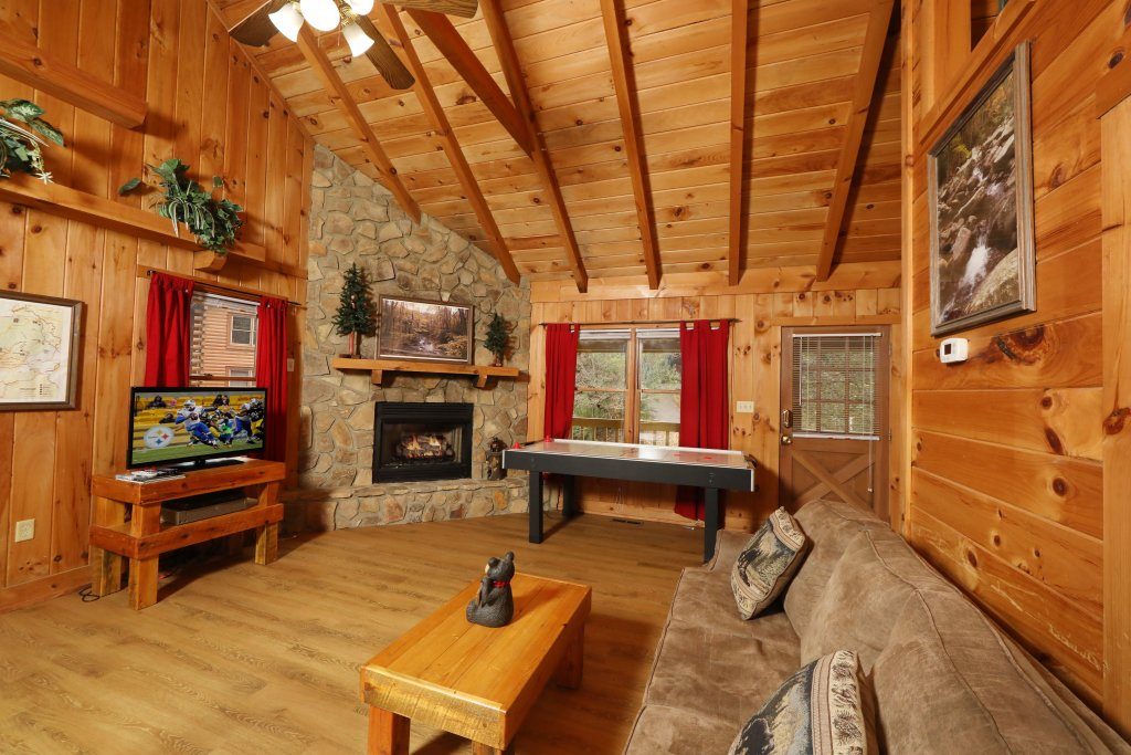 Photo of a Pigeon Forge Cabin named Creekside Tranquility #365 - This is the second photo in the set.
