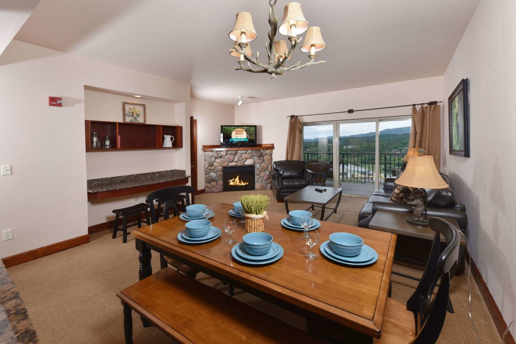 Photo of a Pigeon Forge Condo named 4002 Big Bear Resort - This is the third photo in the set.