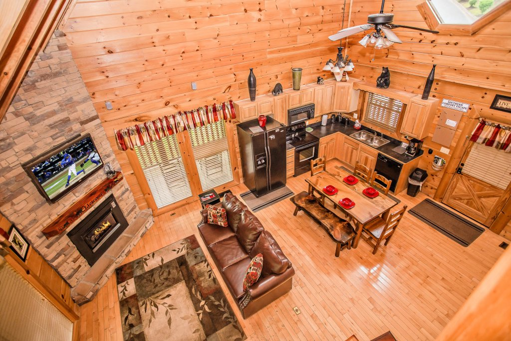 Photo of a Sevierville Cabin named Southern Comfort Escape - This is the third photo in the set.
