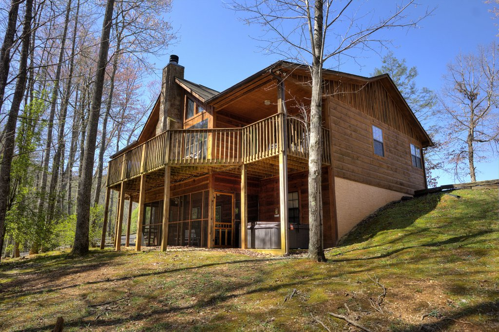Photo of a Sevierville Cabin named Always Delightful #411 - This is the first photo in the set.