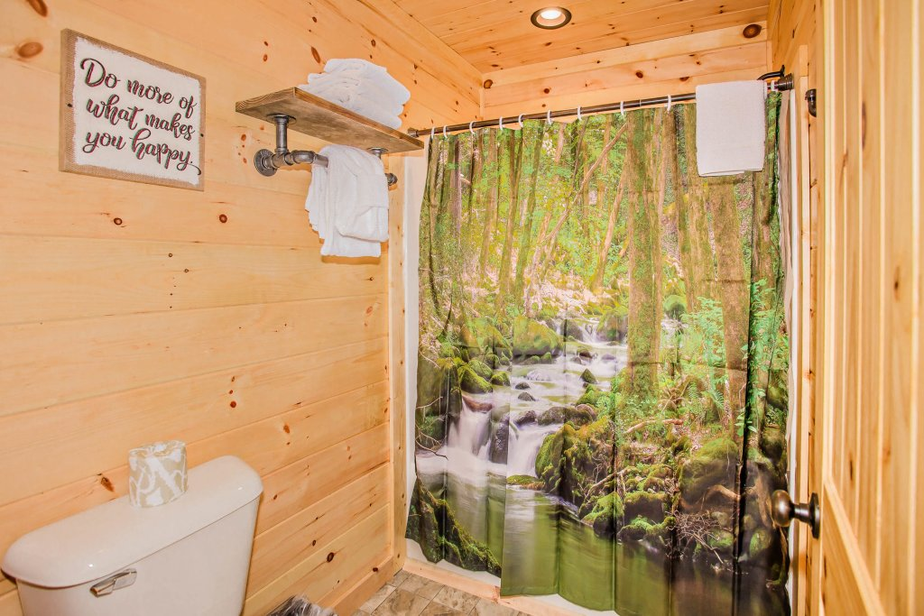 Photo of a Pigeon Forge Cabin named A Bear's Alpine Splash - This is the sixteenth photo in the set.
