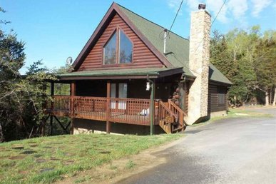 A 2 Bedroom, 2 Bath Lake Cabin In Douglas Lake Smoky Mountain Resort.