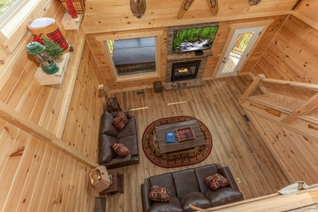 Photo of a Sevierville Cabin named Sawmill Springs - This is the twenty-first photo in the set.