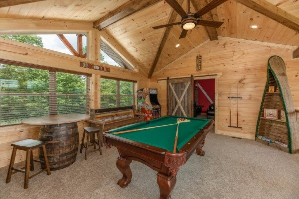 Photo of a Sevierville Cabin named Sawmill Springs - This is the twenty-second photo in the set.