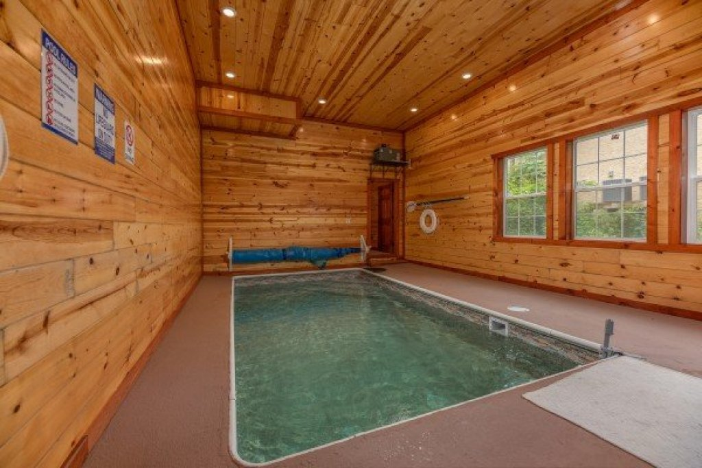Photo of a Pigeon Forge Cabin named The Pool Palace - This is the first photo in the set.