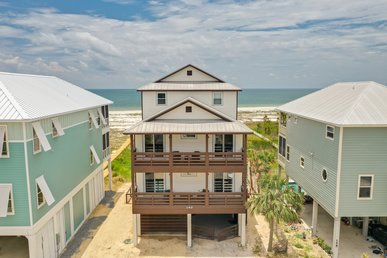 Timeless Gulf Front Beach Home with hot tub and incredible views