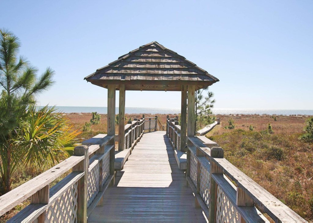 Photo of a Cape San Blas House named Barefoot Gypsy - This is the first photo in the set.