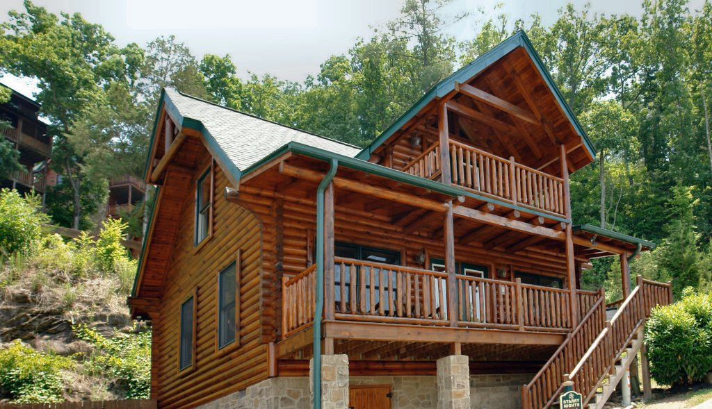 Photo of a Sevierville Cabin named Starry Nights #222 - This is the second photo in the set.