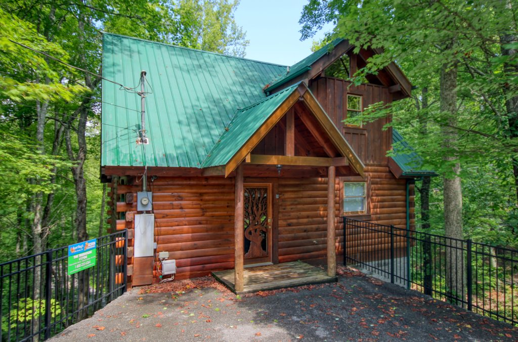 Photo of a Gatlinburg Cabin named American Treehouse #1708 - This is the first photo in the set.