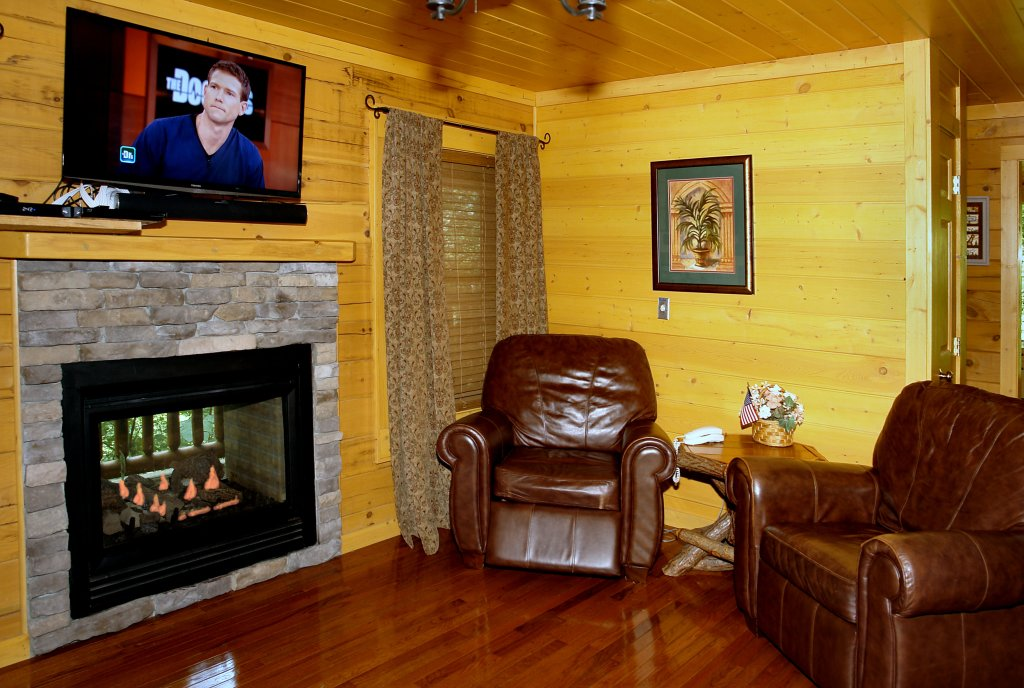 Photo of a Pigeon Forge Cabin named Skinny Dippin' #261 - This is the twenty-third photo in the set.