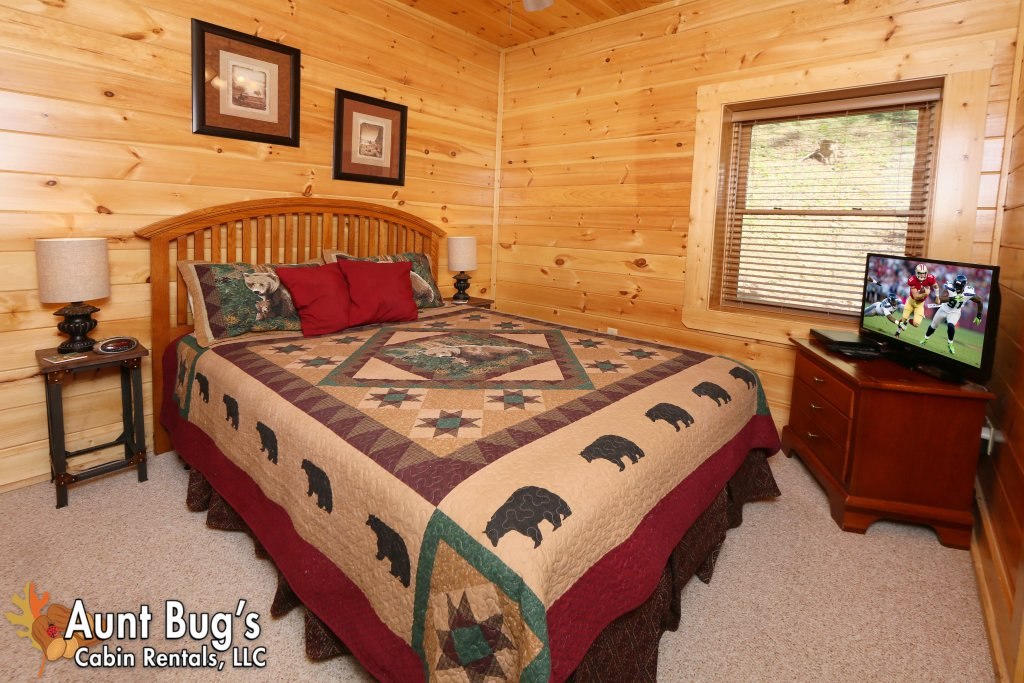 Photo of a Sevierville Cabin named Big Daddy Bear #545 - This is the eighth photo in the set.