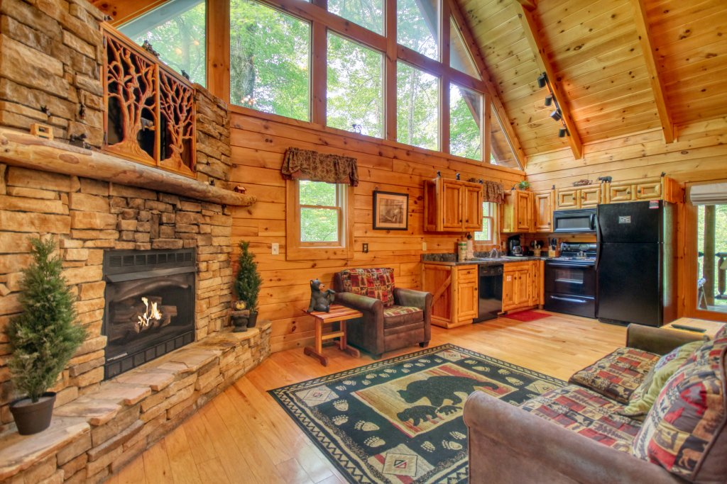 Photo of a Gatlinburg Cabin named American Treehouse #1708 - This is the third photo in the set.