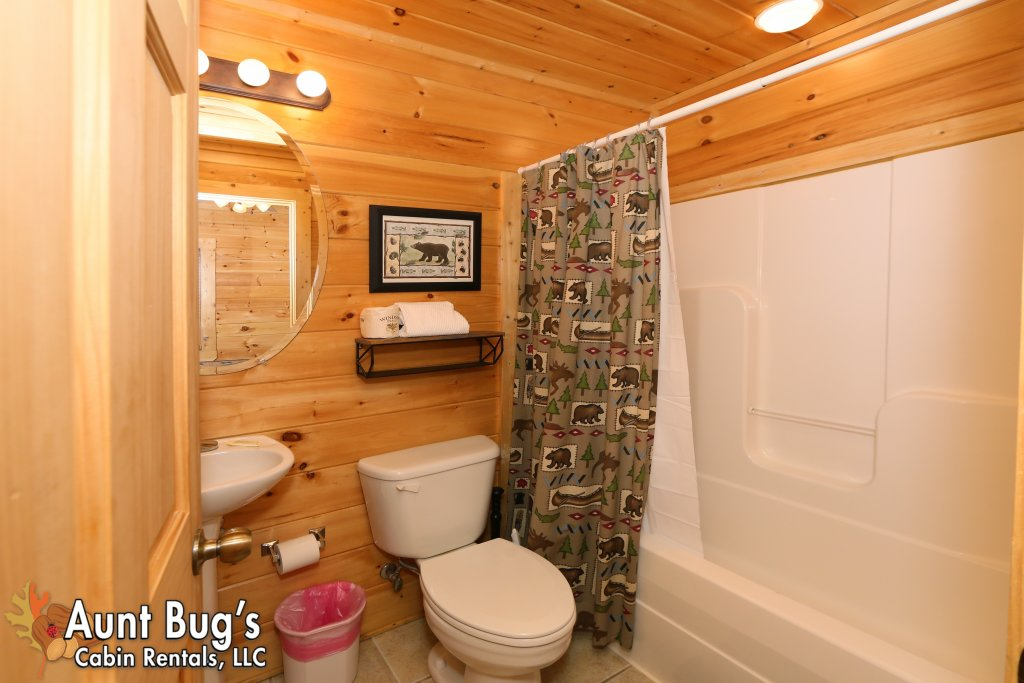 Photo of a Sevierville Cabin named Big Daddy Bear #545 - This is the nineteenth photo in the set.