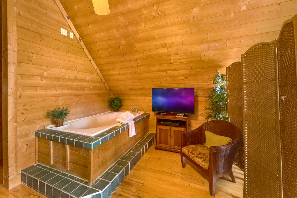 Photo of a Sevierville Cabin named Hidden Romance #1404 - This is the third photo in the set.