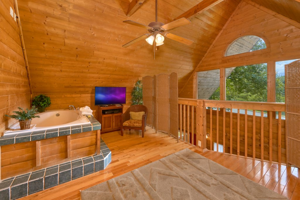 Photo of a Sevierville Cabin named Hidden Romance #1404 - This is the second photo in the set.
