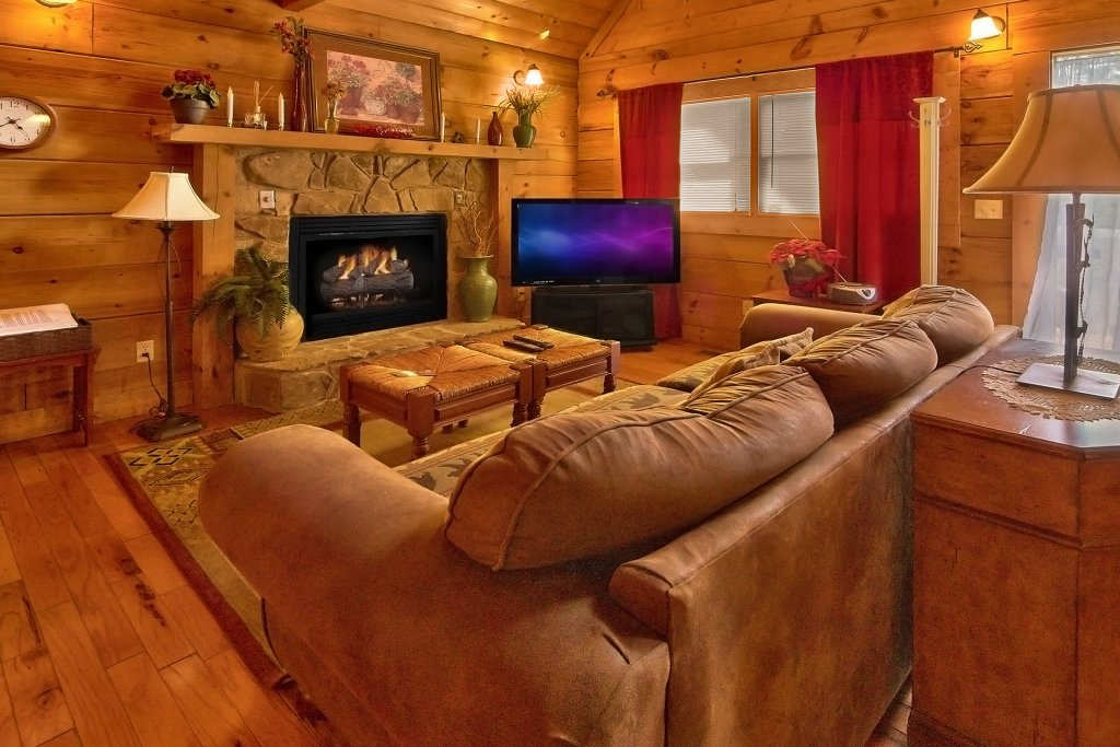 Photo of a Sevierville Cabin named Hidden Romance #1404 - This is the fourteenth photo in the set.