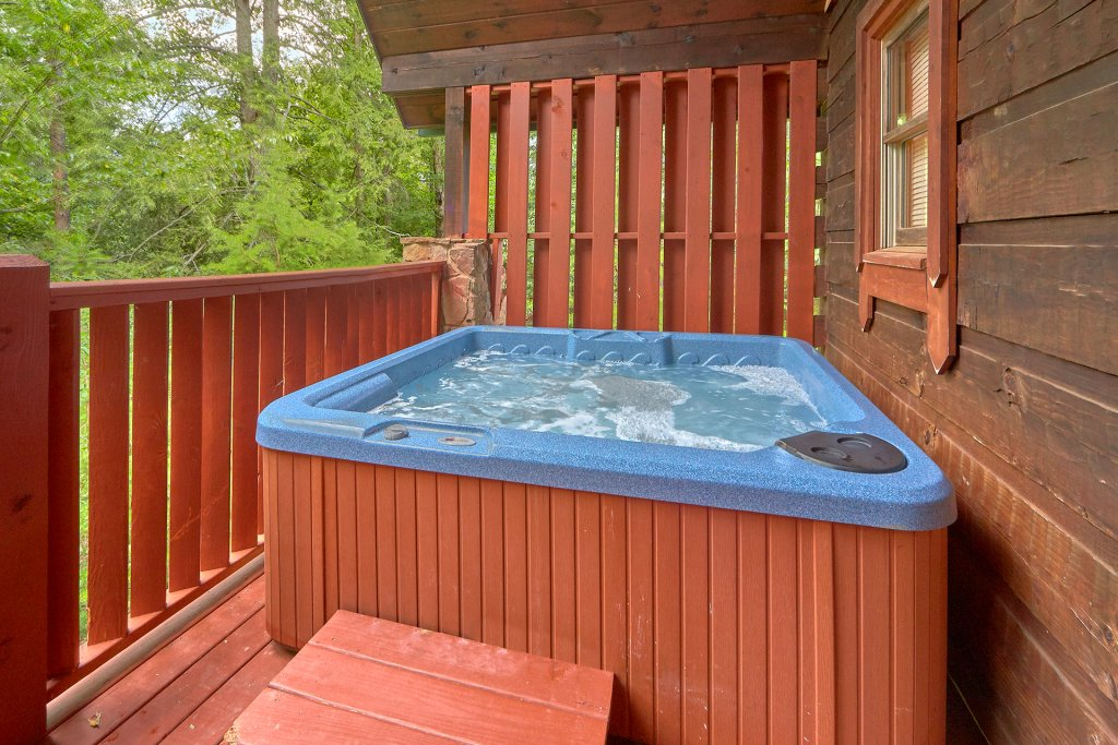 Photo of a Sevierville Cabin named Hidden Romance #1404 - This is the seventeenth photo in the set.