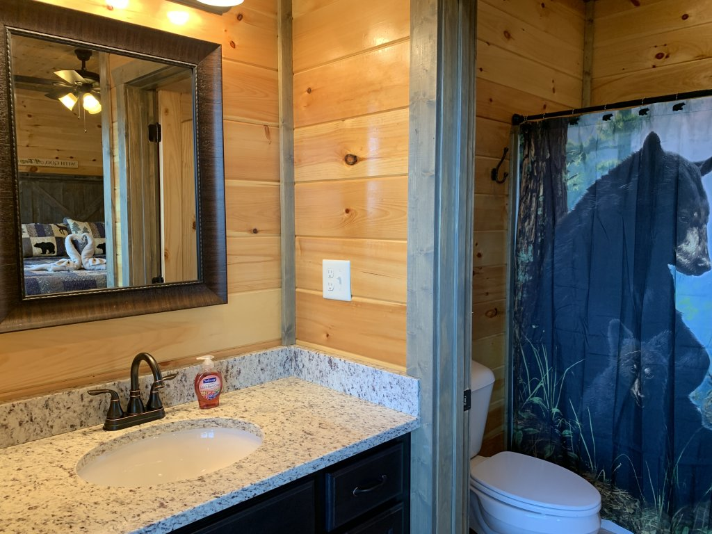 Photo of a Gatlinburg Cabin named Rainwater Falls - This is the twenty-first photo in the set.