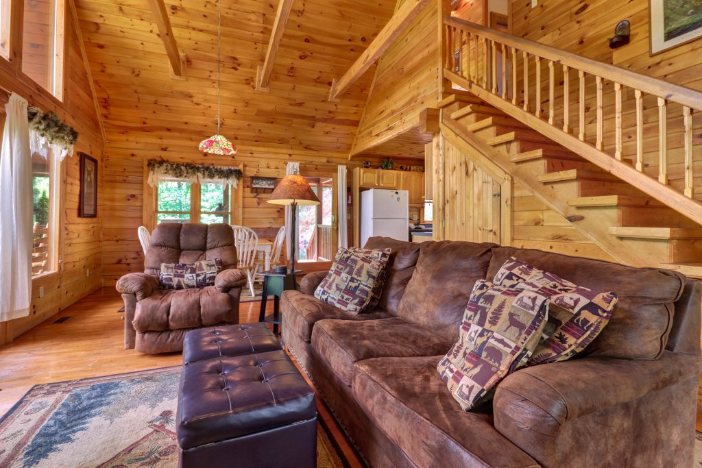 Photo of a Sevierville Cabin named Altitude Adjustment - This is the fifth photo in the set.