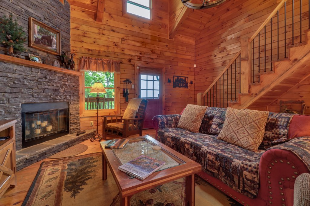 Photo of a Sevierville Cabin named Evergreen - This is the twenty-sixth photo in the set.