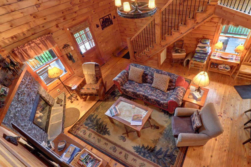 Photo of a Sevierville Cabin named Evergreen - This is the twenty-seventh photo in the set.