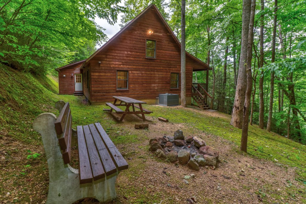 Photo of a Sevierville Cabin named Eagle's Nest - This is the second photo in the set.