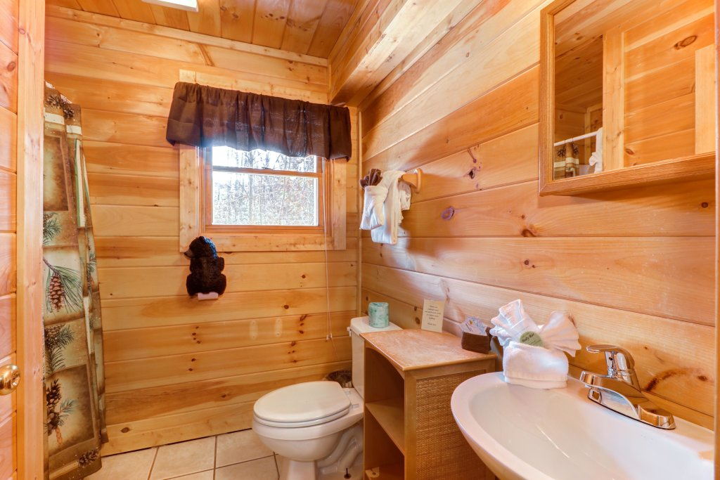 Photo of a Pigeon Forge Cabin named Thunder Bear Hideaway - This is the twentieth photo in the set.
